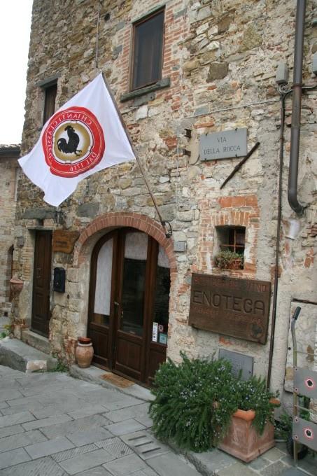 Gallo Nero (črni petelin) je simbol konzorcija Chianti Classico